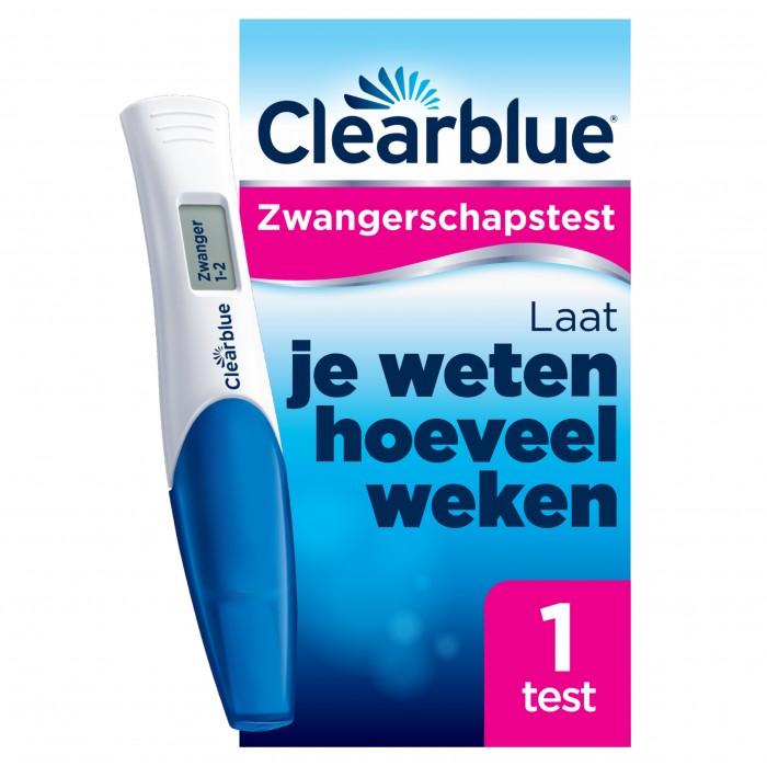 Clearblue Digitale Zwangerschapstest Met Conceptie Indicator 1299