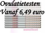 Ovulatietest dipstick al vanaf 6,49 euro.