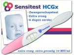 Sensitest extra vroege zwangerschapstest, vanaf 6 dagen eerder